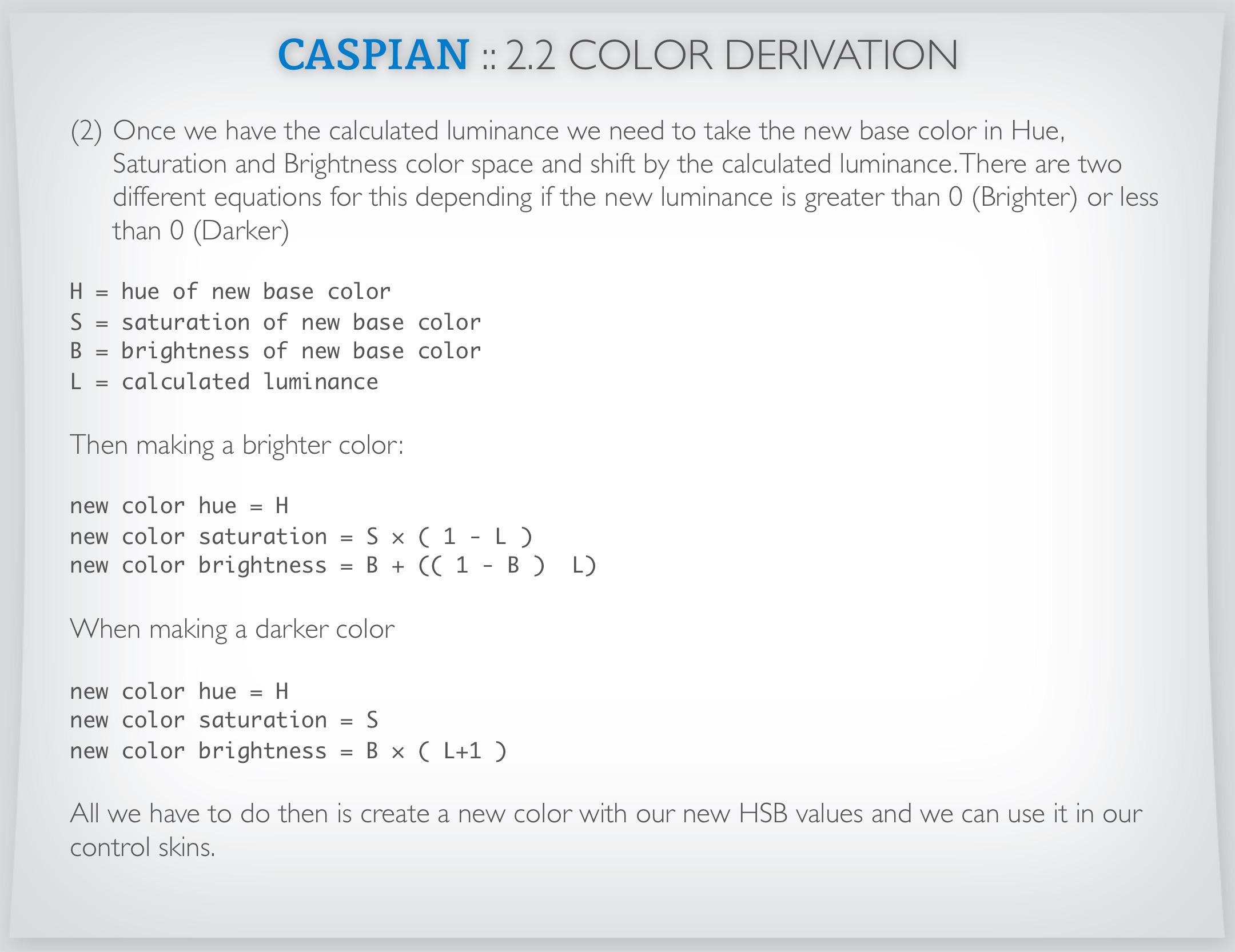 Caspian 21