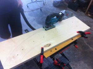 Cutting Prototype Legs