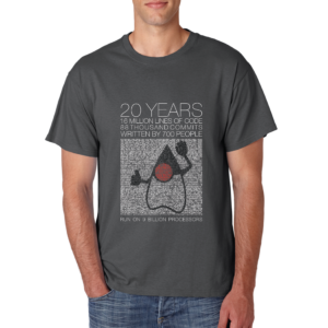 Java 20th T-Shirt v2.1 positioning