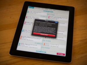 Scheduling App iOS